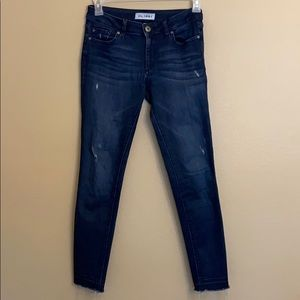 DL1961 Emma Power Legging Jeans Distressed 27